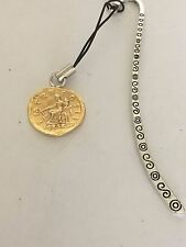 Aureus Of Hadrian Coin WC59 Gold Fine English Pewter On A PATTERN Bookmark
