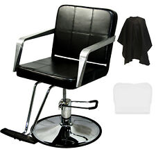Professional Black Hydraulic Barber Chair Styling Salon Spa Beauty Equipment