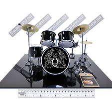 Mini Drum set QUEEN bohemian rhapsody TRIBUTE 1:4 miniature gadget collectible