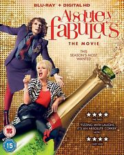 ABSOLUTELY FABULOUS - THE MOVIE BLU-RAY - NEW / SEALED - UK STOCK