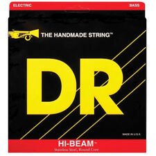 DR MR6-30 Hi-Beam Medium 6-String Electric Bass Strings (30-125) +Picks