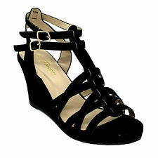 Forever Tunas-92 Women's Black Pageant Dress Evening & Party Shoes size 9