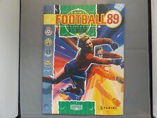 PANINI FOOTBALL 89 STICKER ALBUM - 10% COMPLETE