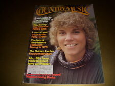 COUNTRY MUSIC Magazine, April, 1975, ANNE MURRAY, LORETTA LYNN, SONS OF PIONEERS