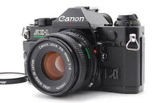 EXC CANON AE-1 PROGRAM + New FD 50mm F2 Lens MF SLR 35mm from Japan