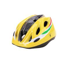 Nwt Ferrari Kid's Helmet Yellow age 3-10 Bike helmet