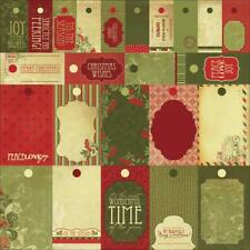 Kaisercraft Twig & Berry 12x12 Perforates Specialty - To Tags Christmas PS225