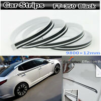 """12mm 1/2"""" 32 Feet Tape Vinyl Decal DIY Sticker for Car body motorcycles boats"""