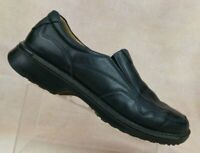 ECCO Black Leather Shock Point Bicycle Toe Loafers Men's US 13-13.5 / EUR 47
