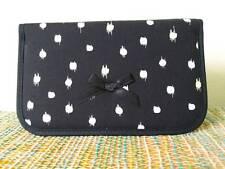 NARAYA Cosmetic Bag Makeup Black Color CP115 with Mirror Thailand New
