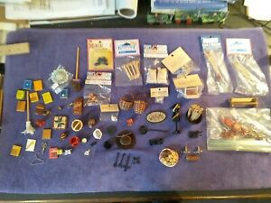 Dollhouse Miniature decorations large lot