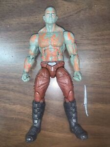 Marvel Legends Guardians Of The Galaxy 2014 Drax The Destroyer Groot baf loose