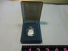 Solid Sterling Silver Gerald R. Ford Pendant Charm Franklin Mint 1974