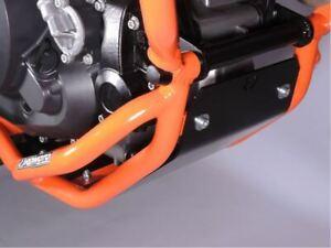 KTM 690 Enduro R  2019+  Sturzbügel unten orange Unterfahrschutz Motorschutz