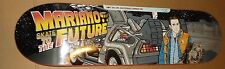 "GIRL MARIANO ""SKATE TO THE FUTURE"" SKATEBOARD DECK  BACK TO THE FUTURE DELOREAN"