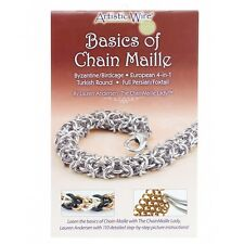Basics of Chain Maille Paperback Book (Beadalon) By Lauren Andersen (A24/10)