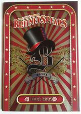 "BRITNEY SPEARS 2009 ""CIRCUS CONCERT PROGRAM"" AUSTRALIA ~RARE~"