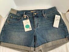 Roxy Eden Trippers Sz 5/27 Blue Denim Shorts Women's
