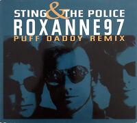 Sting & The Police Maxi CD Roxanne '97 (Puff Daddy Remix) - Digipak - UK (VG+/M
