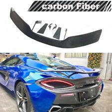 Carbon Fiber Rear Spoiler Sport Wing for McLaren 540C 570S 570GT 570S 2015-2019