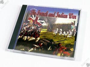 PC IBM THE FRENCH AND INDIAN WAR JOHN TILLER COMPUTER GAME HPS WARGAME VINTAGE