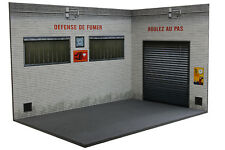 Diorama Garage Atelier | Workshop - 1/18ème - #18-3-F-AX-AY-001