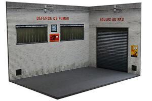 Diorama Garage Atelier   Workshop - 1/18ème - #18-3-F-AX-AY-001
