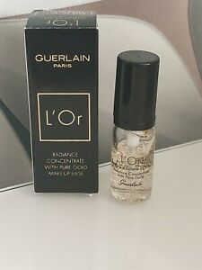 Guerlain L'Or Radiance Concentrate with Pure Gold Make-up Base Sample 5ml BNIB