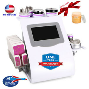 9-1 LED Ultrasonic Cavitation Vacuum 40K RF Body Slimming Cellulite Machine