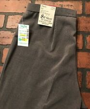 FOCUS 2000 Classic Fit Charcoal Dress Pants Petite Women's Size 8P NWT