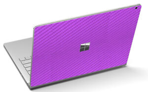 """LidStyles Carbon Fiber Laptop Skin Protector Decal Microsoft Surface Book 2 13"""""""