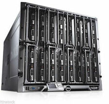 Dell PowerEdge M1000E Blade Gehäuse Mit 16 x M600 3.33GHz 4 core Blade Server