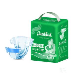 Goodfeel Adult Diaper Briefs Maximum Abosrbency For Men & Women Large 1 pack