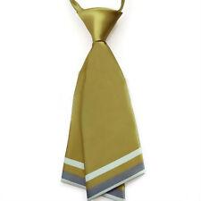 Gift Idea Fashion Women's Tie Necktie Ladies' Pre-tied Silk Necktie Gold Bowtie