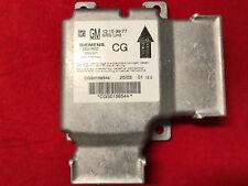 Airbag Steuergerät Airbagsteuergerät 13159977 CG Signum Vectra C Opel kein unfal