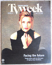 Sonia Satra GUIDING LIGHT Chicago Tribune TV Week guide magazine May 7 - 13 1995