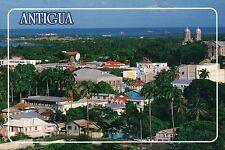 St. John's from the Flamingo Hotel and Casino, Antigua, Caribbean --- Postcard