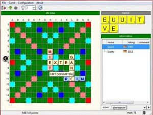 3D SCRABBLE GAME for any WINDOWS version (Windows 10, Win 8 and Win 7)