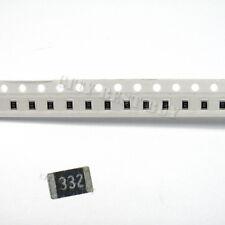 50 x SMD SMT 0805 Chip Resistors Surface Mount 3K3 3.3Kohm 332 +/-5% 1/8W RoHs