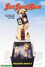 """MOVIE POSTER~See Spot Run 2001 Double Sided D/S Original 27x40"""" One Sheet New~"""