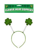 Trifoglio Irlandese Verde Trifoglio Foglia Testa Bopper S. Patrizio Costume.