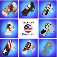 Golf Putter Cover For Scotty Cameron Odyssey Craftsman Synthetic Leather USA NEW