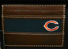 JACK MASON Chicago Bears NFL Football Stadium ID Card Case Leather Wallet