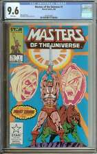 MASTERS OF THE UNIVERSE #1 CGC 9.6 WHITE PAGES ID: 9455