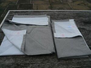 Dunelm Pair of Blackout Curtains Pencil Pleat, Grey, Each 228x137cm