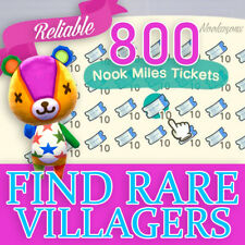 800 NOOK MILES TICKETS 🎫NMT 800🎫 🏃FASTEST & CHEAPEST ONLINE🎫 NEW HORIZONS 🎫