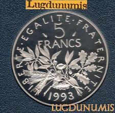 BE 1993 5 Francs Semeuse 1993 BE FDC 5 309 Exemplaires Provenant du Coffret BE