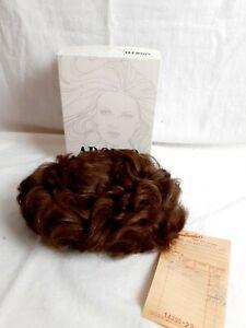 Adolfo Body Perm Wig Vintage Light Medium Brown Wave Short Haired -Original Box