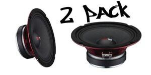 """(2) DS18 PRO-X6M 1800W 6.5"""" Midrange Full Range Super Speaker Loudspeaker 8 Ohm"""