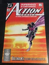 Action Comics#598 Incredible Condition 9.4(1988) 1st Checkmate App, Byrne Art!!